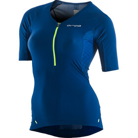 ORCA 226 Perform Sleeved Tri Top Women blue